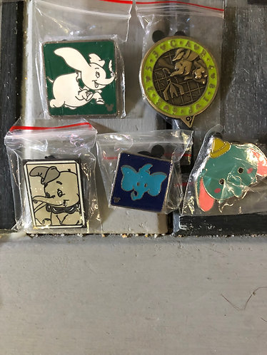 Dumbo Limited Release 5 Pin Set 2000's