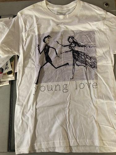 Corpse Bride Young Love Medium Shirt Unisex