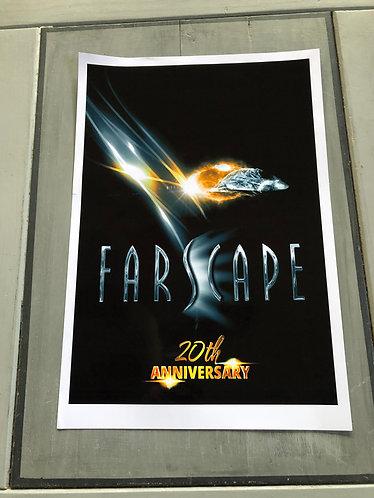 WinterCon Farscape 20th Anniversary Print