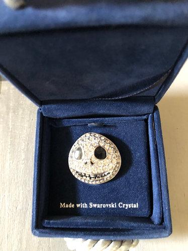 Nightmare before Christmas Jack Swarovski Crystal Pin LE 1500