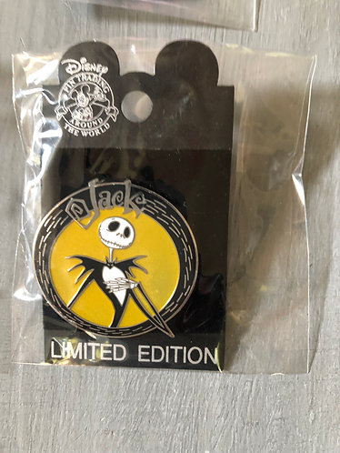 Nightmare before Christmas Jack Pin