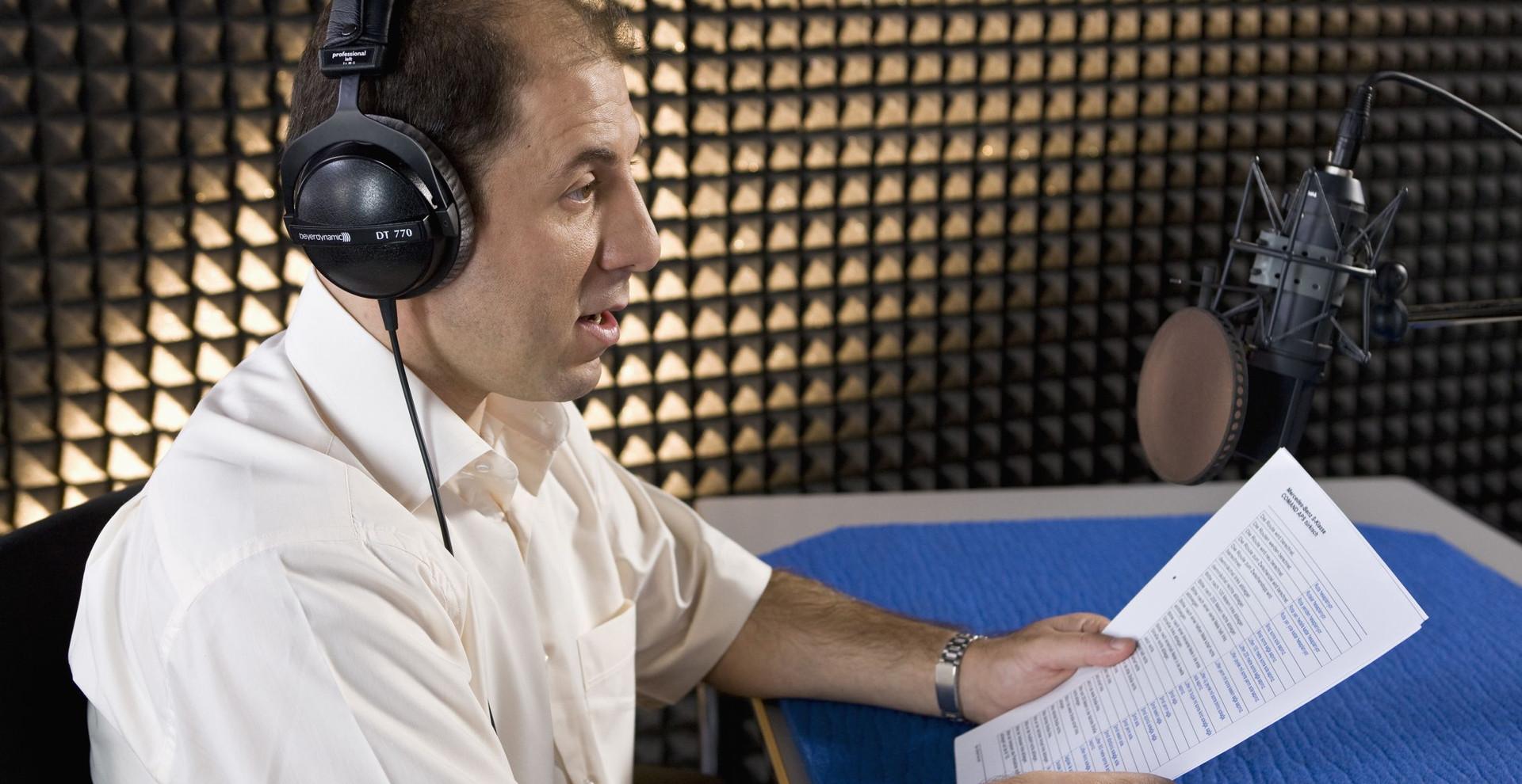 Navigation voice over - Selcuk Birdal
