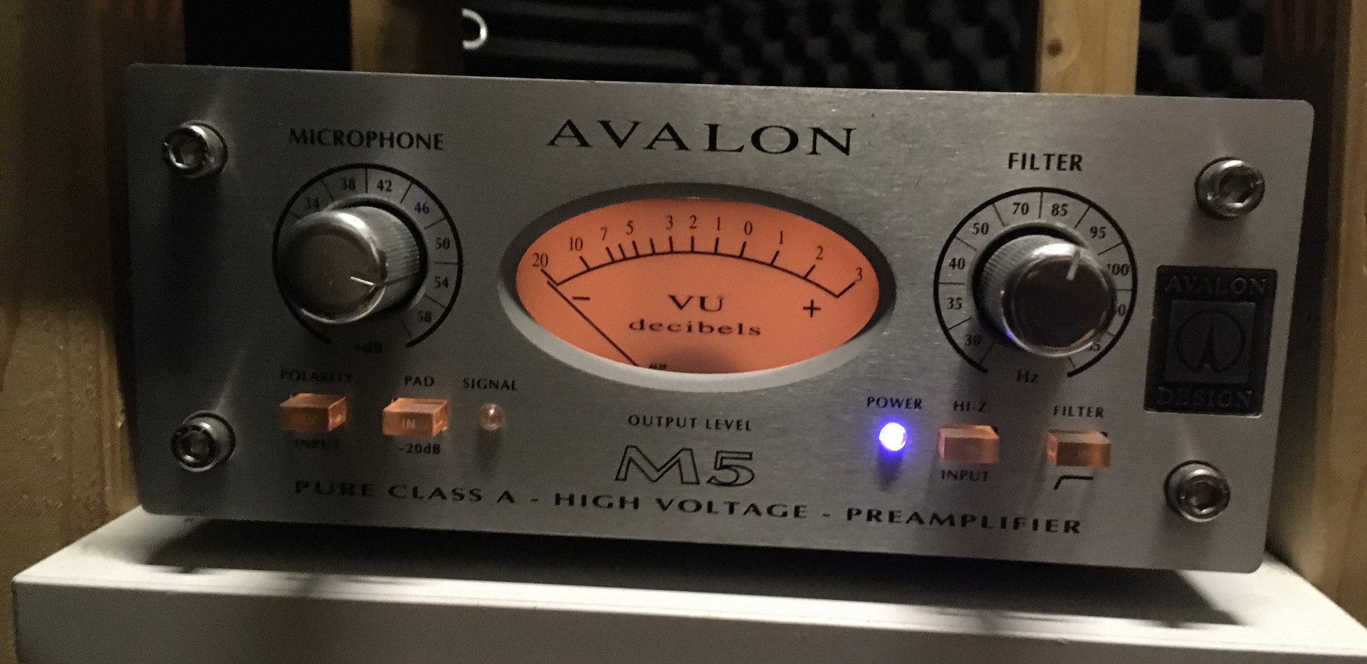 Avalon M5 Preamp