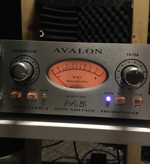Avalon M5 Preamp