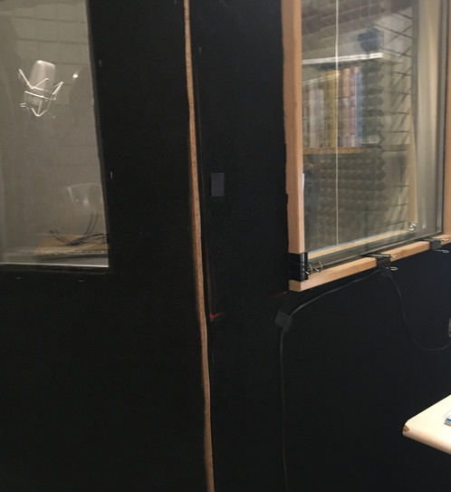 Vocal booth outside