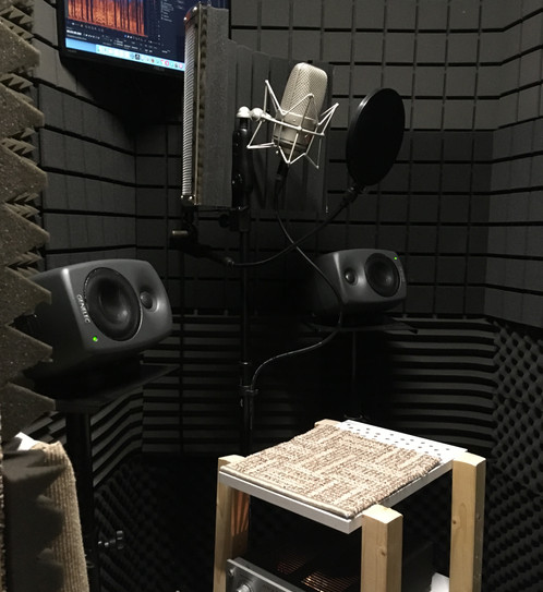 Vocal Booth inside