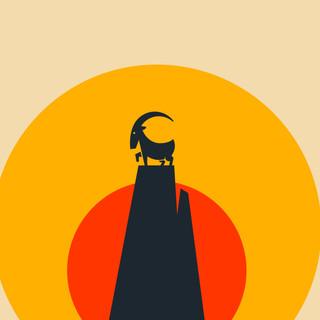 Goat Peak Illustration