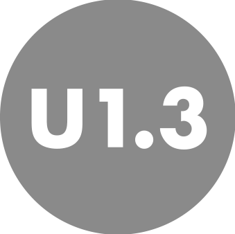 U-value as low as 1.3