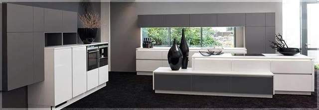 High Gloss Aberdeen Kitchen