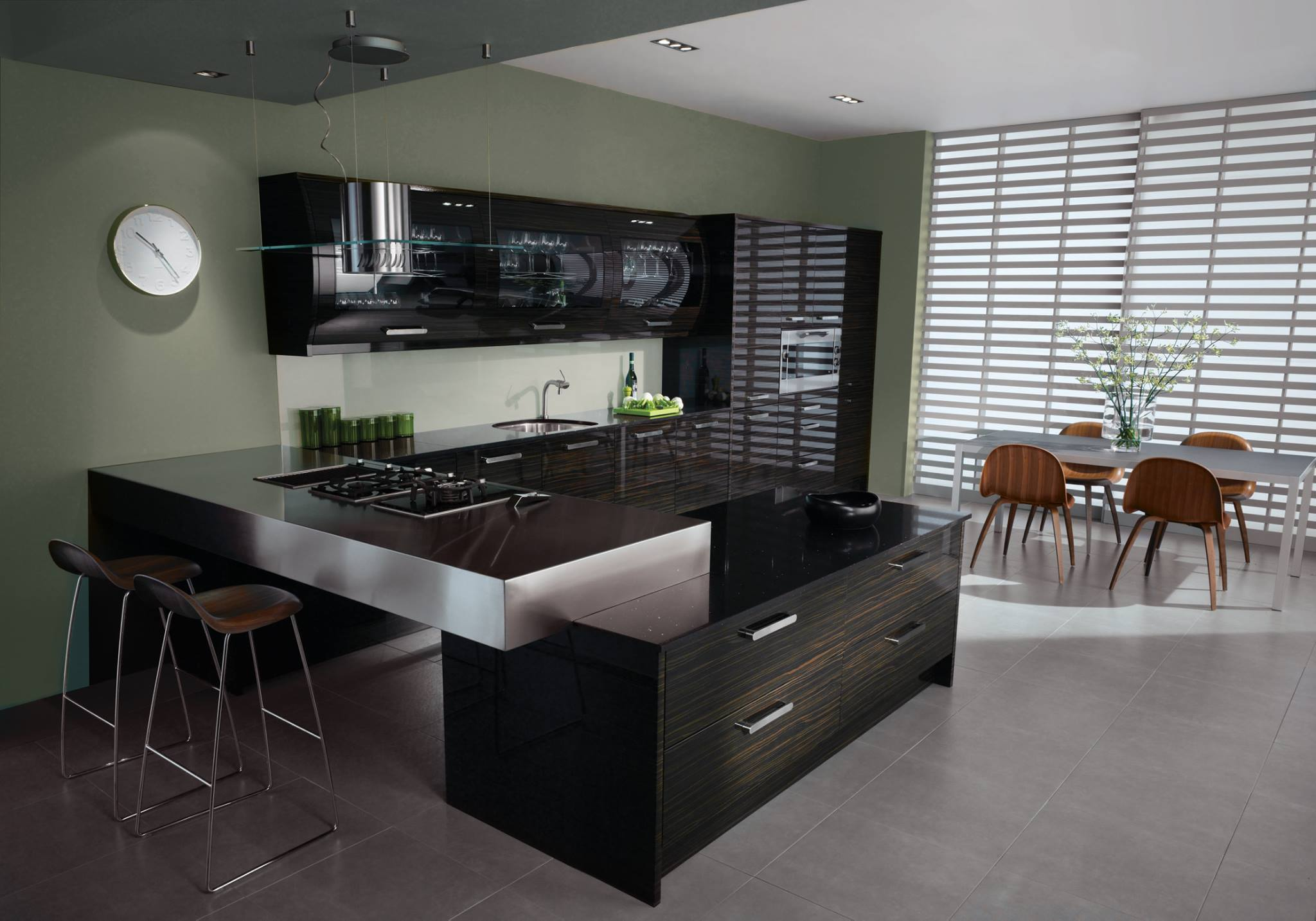 high gloss kitchen aberdeen