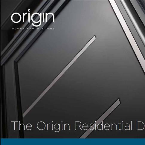 Origin Residential Door