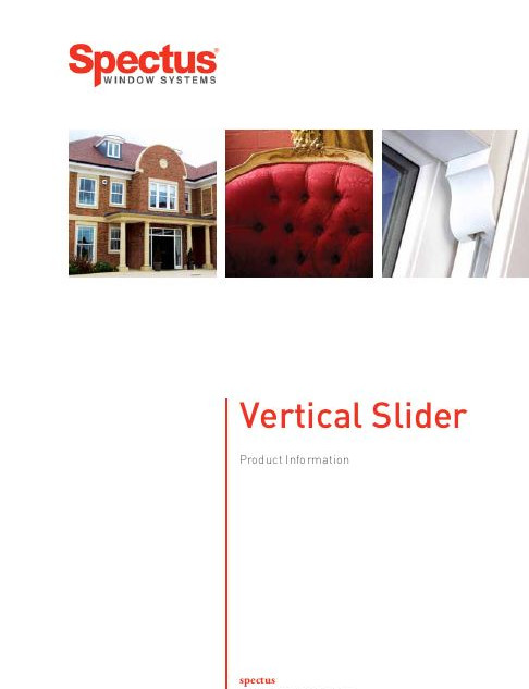 Spectus Vertical Slider Brochure