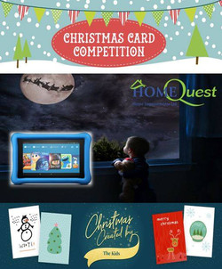 Home Quest Christmas Card Competition
