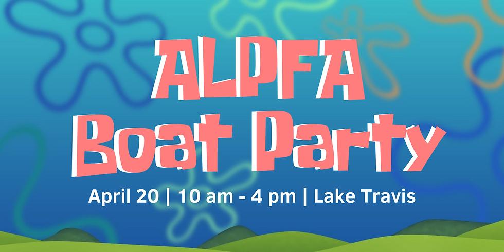 ALPFA Boat Party