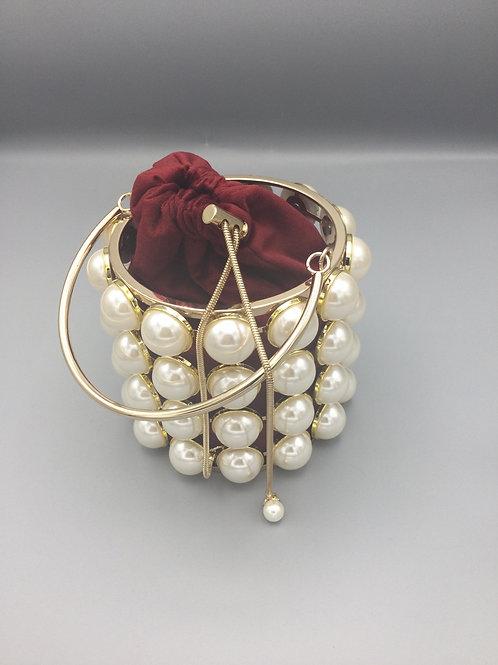 Elegant Pearl Purse