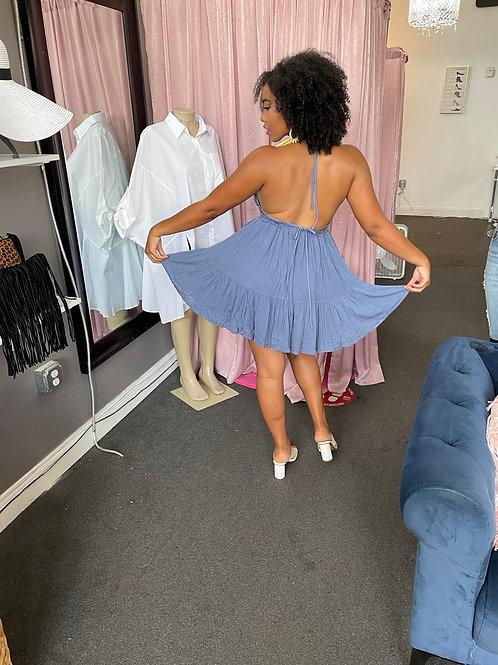 Eliana Denim Dress