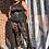 Thumbnail: Sheer Jumpsuit Side Maxi