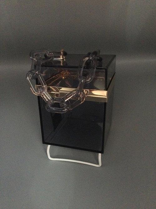 Clear Box Purse- Square