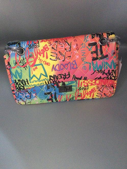 Graffiti purse
