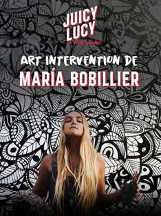 Arte en vivo Juicy Lucy