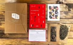 """Obra hecha para el proyecto """"pasaporte literario"""""""