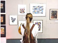 """Exposición colectiva """"El Arte del papel en Chile"""""""