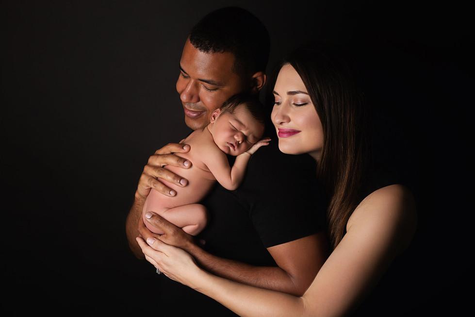 Newborn Family Photographer San Diego