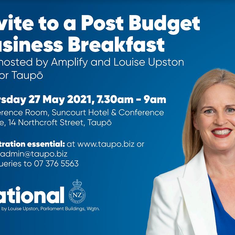 Post Budget Business Breakfast
