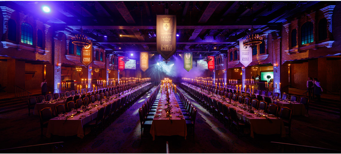 Image of Game of Thrones Dinner for Corporate events