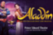 Enjoy Aladdin beyond the screen and watch in real life the show all the family can love.
