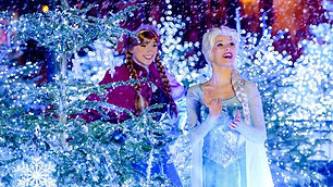 Arendelle: World of Frozen is a themed area based on the 2013 film Frozen.