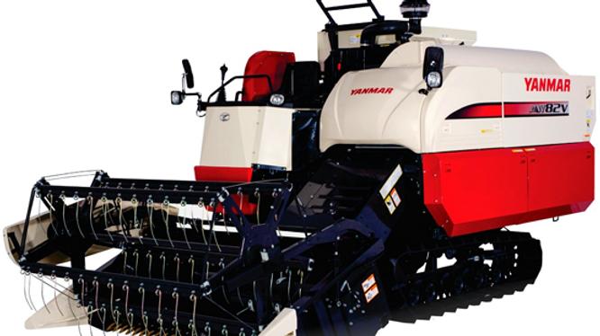 Yanmar AW82V Combine Harvester
