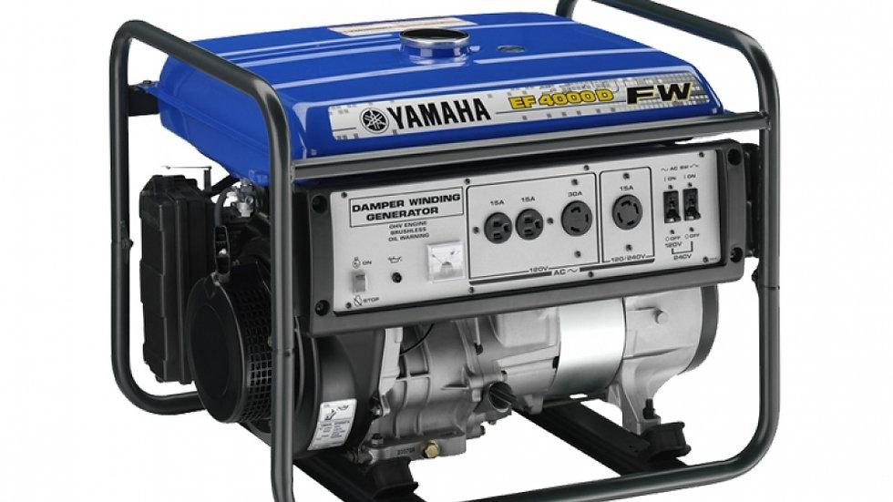 Yamaha EF4000FW Small Generator