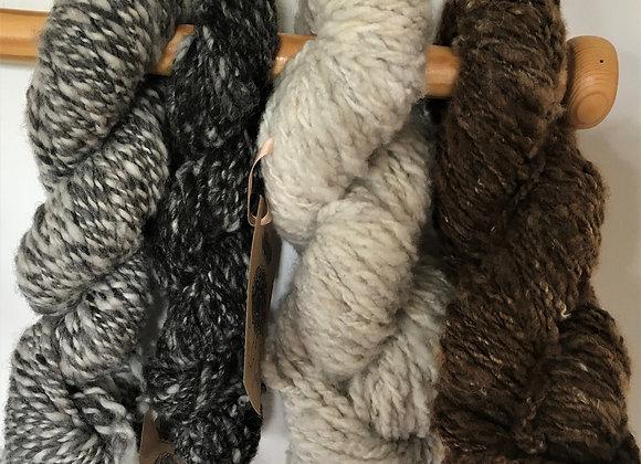 Art Yarn - Hand Spun - Shetland Yarn