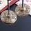 Thumbnail: Handcrafted Tibetan Meditation Tingsha Cymbal Bell Copper Crisp Sound Symbols
