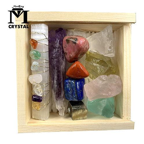 Natural Crystal Mineral Specimen and Quartz