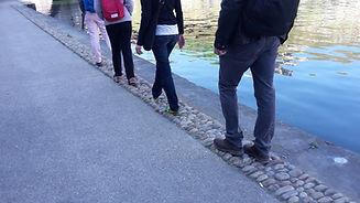 Balade sensible sur les bords de Saône