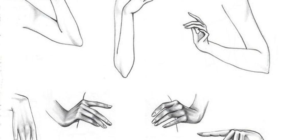 Le corps pinceau : dessin imaginaire