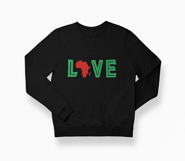 """Love Africa"" Unisex Sweatshirt"