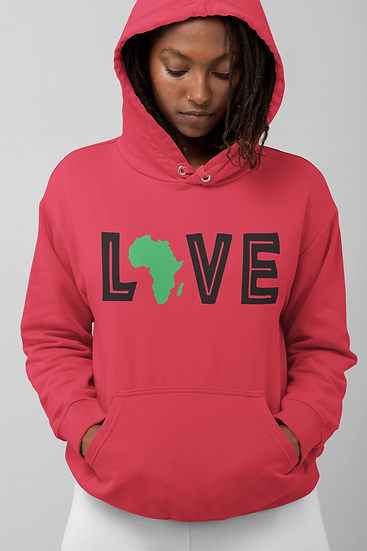LOVE Adult Unisex Hoodie