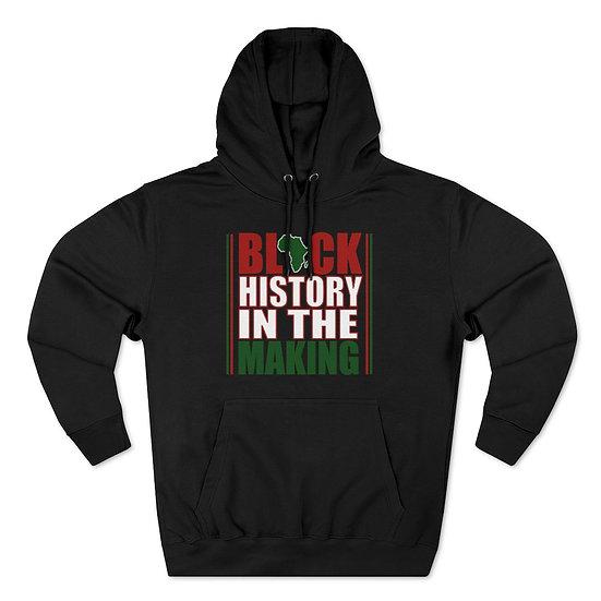 Black History Premium Pullover Hoodie