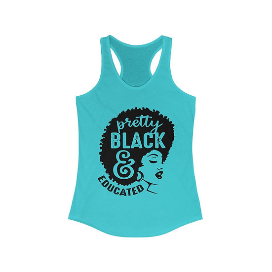 Pretty, Black & Educated Tank
