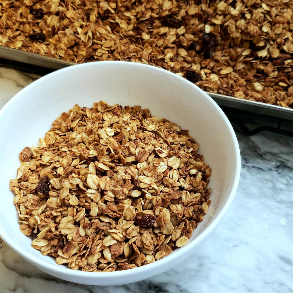 granola recipe gluten free granola homemade granola