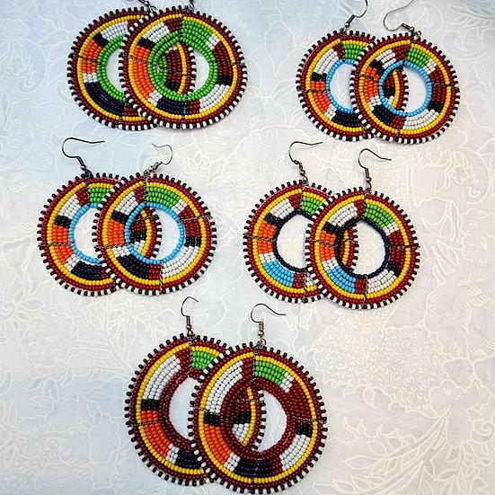 Massai Earrings Circle