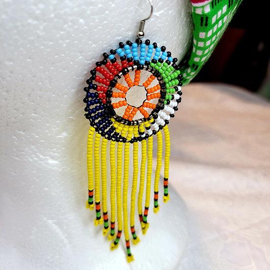 Massai Dangle Earrings