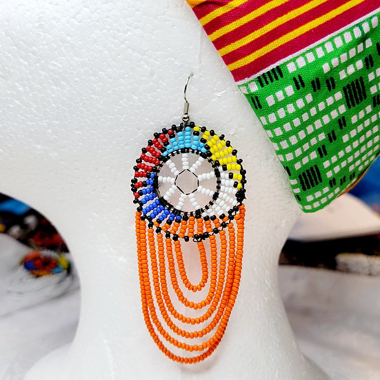 Massai Drape Earrings