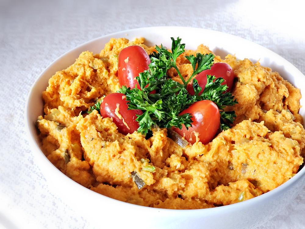 vegan carrot tuna, vegan tuna recipe, plant based recipes, vegan recipes, juicing, raw food vegan recipes