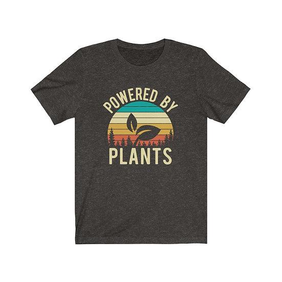 Powered By Plants Vegan Plant Based Shirt