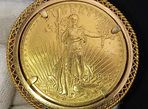$20 US Gold Coin