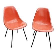 1960s Herman Miller Charles Eames Orange